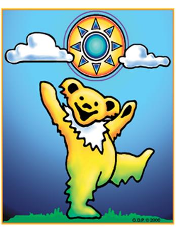 grateful dead 55 | sunny day bear