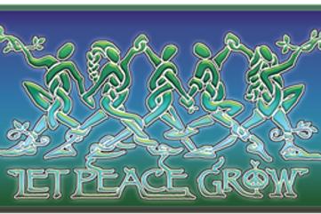 let peace grow knotwork