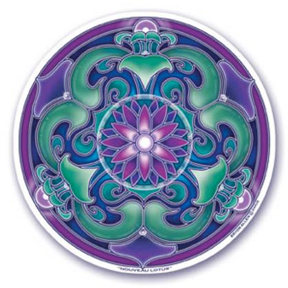 lotus | nouveau sticker