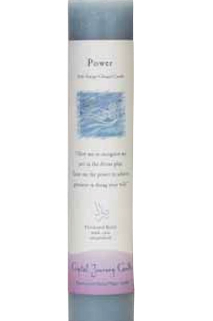 power - reiki energy charged candle