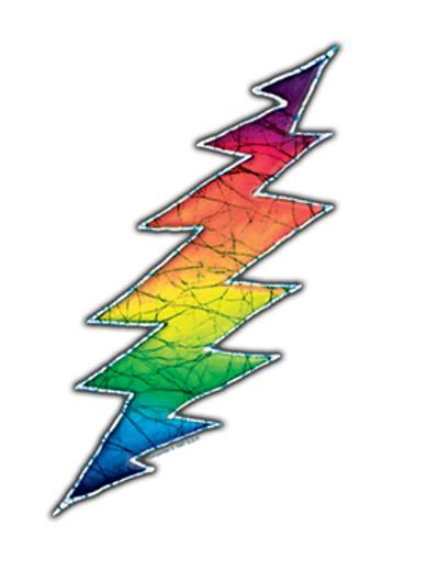 grateful dead 21 | lightning bolt
