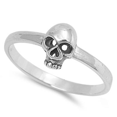 simple series | skull ring