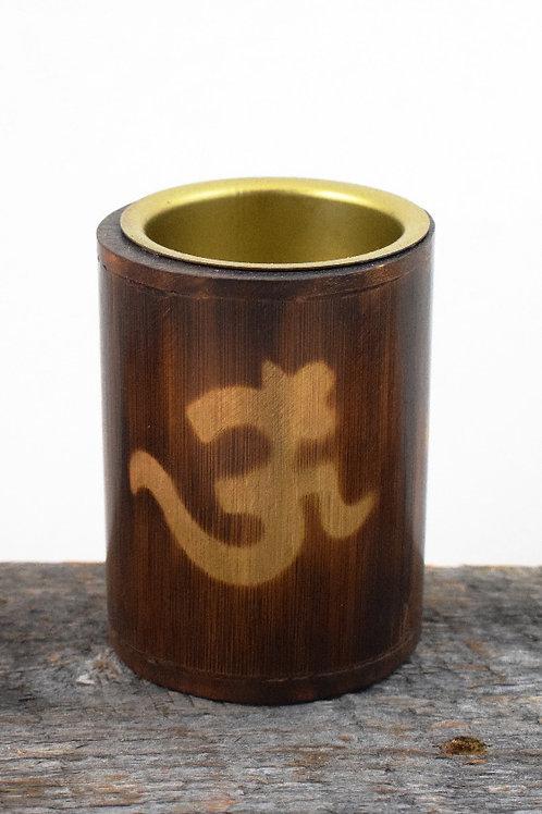 wooden om burner