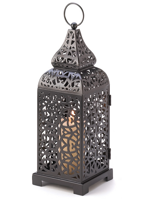 moroccan lantern | all metal cut out