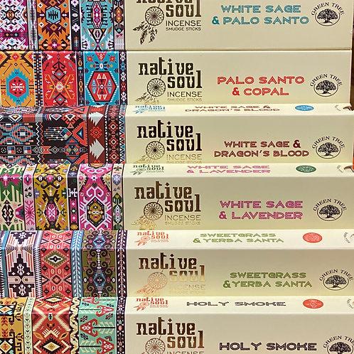 Native Soul Smudge Sticks