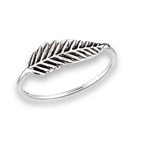 simple series | feather ring