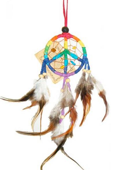 peace sign dreamcatcher