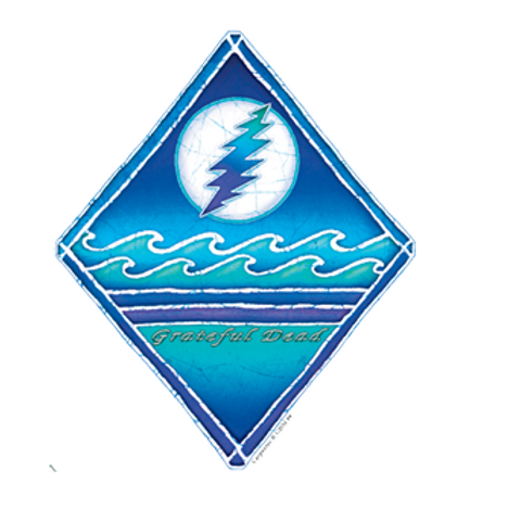 grateful dead 12 | moon + waves