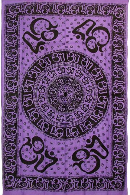 all you need is om tapestry