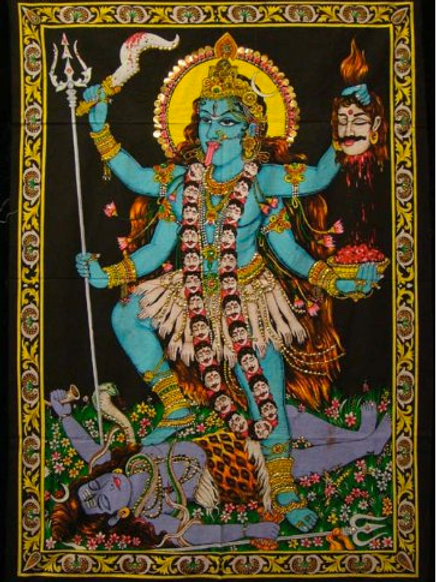 goddess kali wall art