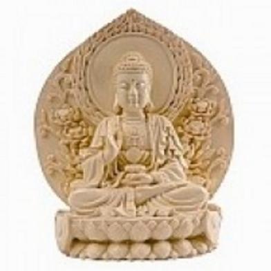 buddha | meditating on lotus