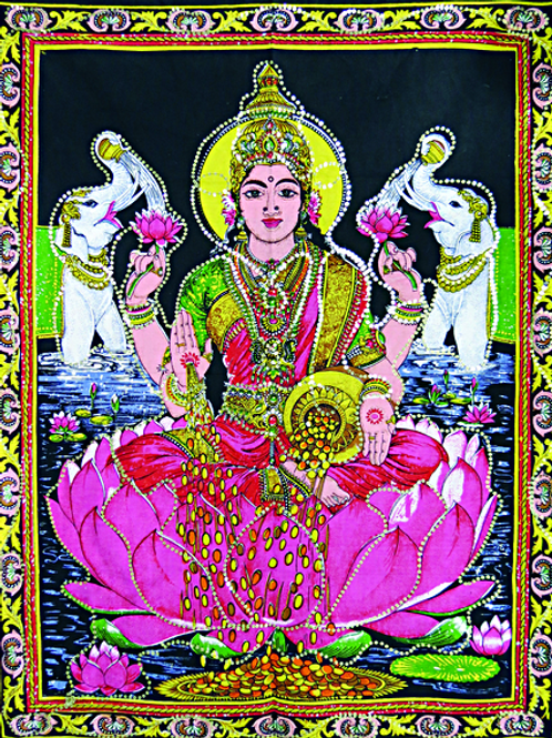 goddess lakshmi wall art