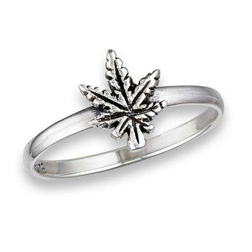 simple series | hemp leaf ring
