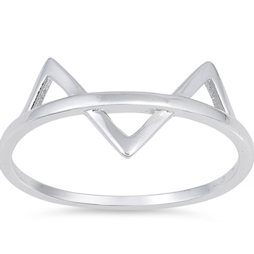 simple series | fox face ring