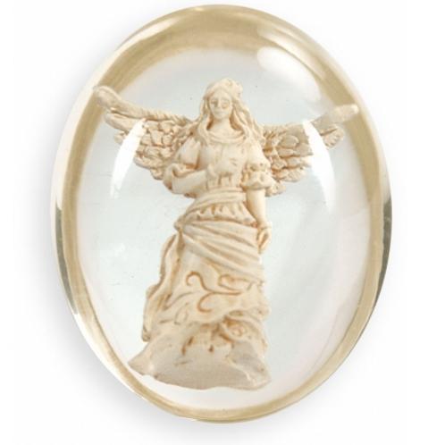 worry stone - guardian angel