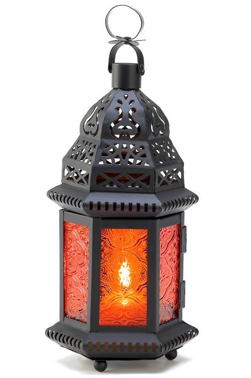 moroccan lantern | cognac turret dome