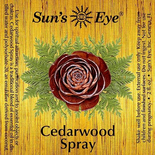 cedarwood spray
