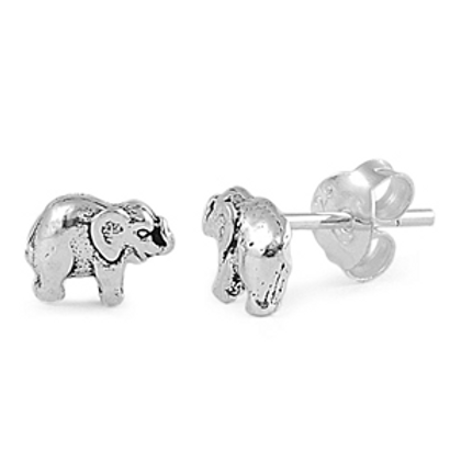 trunks up elephant studs