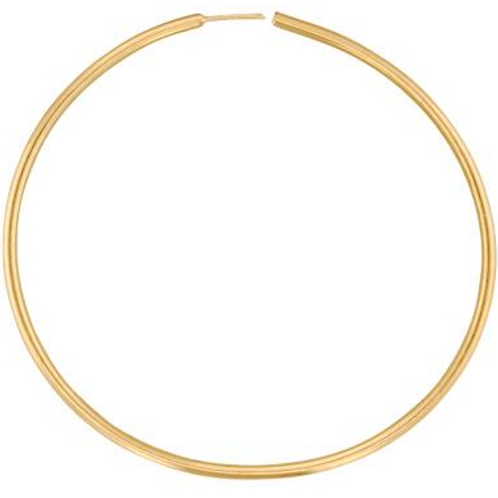 1mm 14k GF hoops