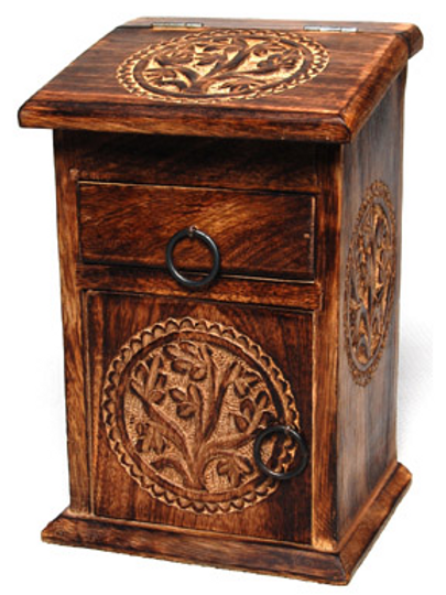 tree of life apothecary chest
