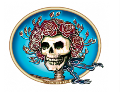grateful dead mini #4 | scarlet