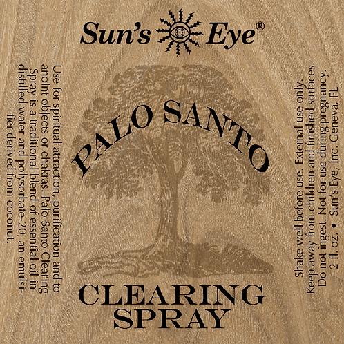 palo santo clearing spray