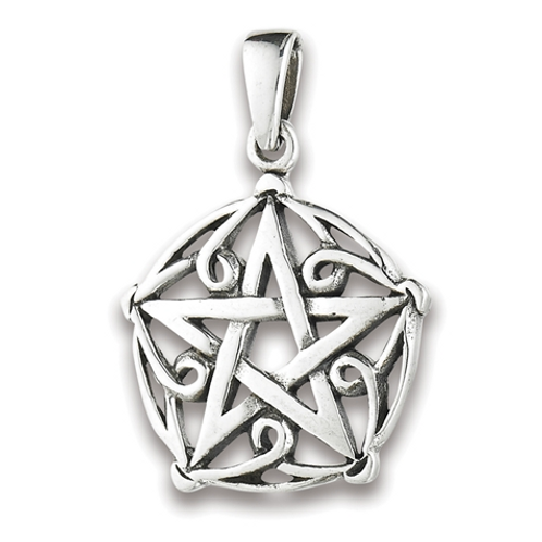 4 elements series | twisted pentacle pendant
