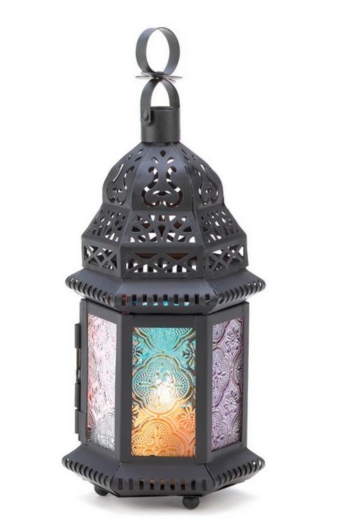 moroccan lantern | rainbow turret dome