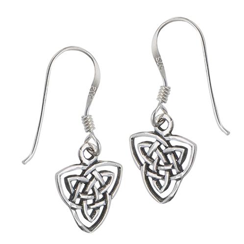 celtic series | open cut knot dangles