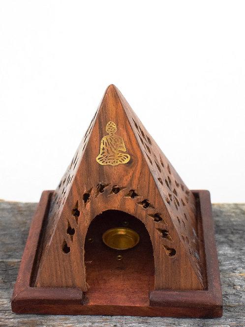 Buddha pyramid burner