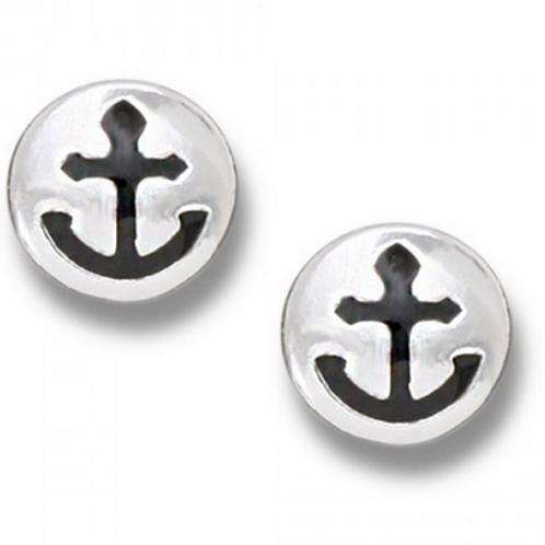 anchor coin studs