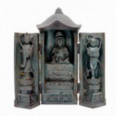 traveling shrine | quan yin sitting