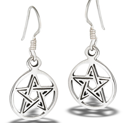four elements series | pentacle dangles