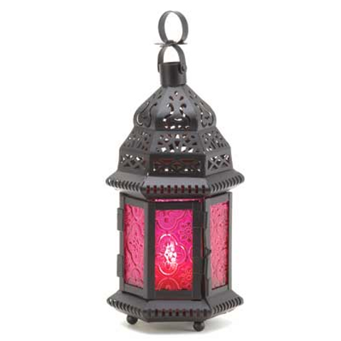 moroccan lantern | fuschia turret dome