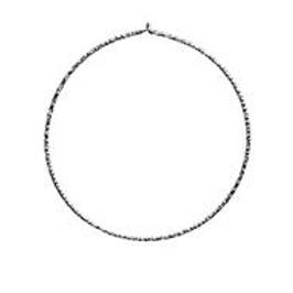 simple series | diamond cut hoops