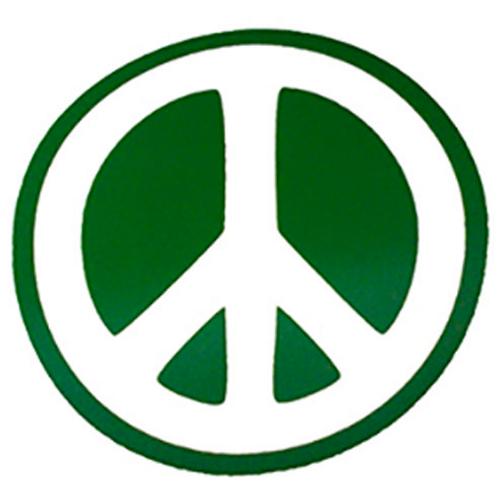 vinyl peace sign