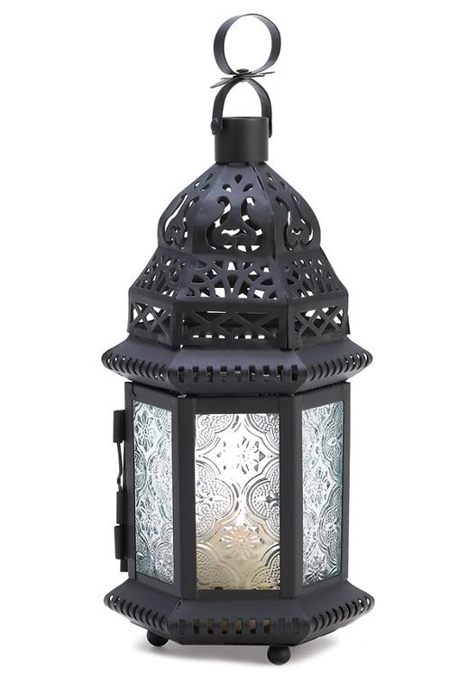 moroccan lantern | clear turret dome