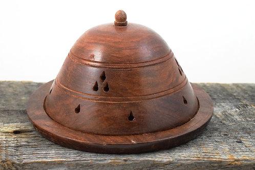 wooden dome burner