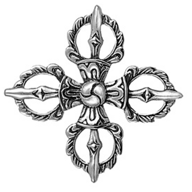 inspired series | double dorje pendant