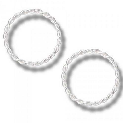 texture circle studs