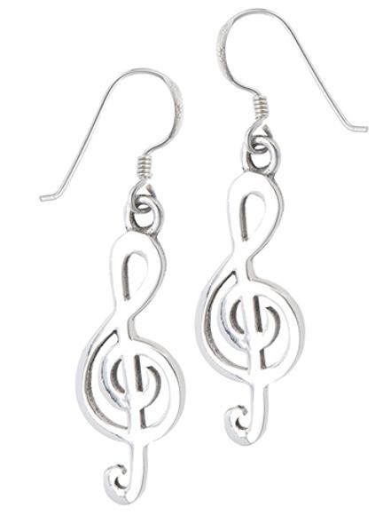 boho series | treble clef dangles 1