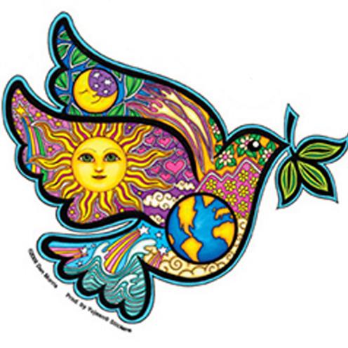 cosmic peace dove