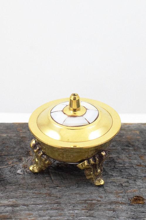brass + MOP burner