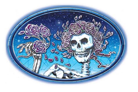 grateful dead 7 | skulls & roses