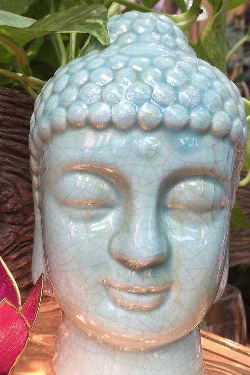 Turquoise Buddha Head