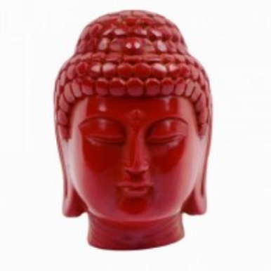 buddha | red head