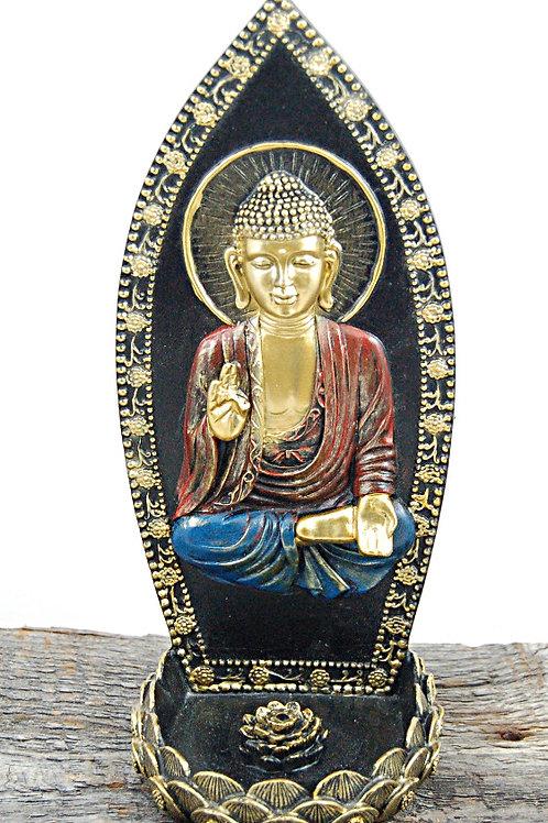 Buddha + lotus burner