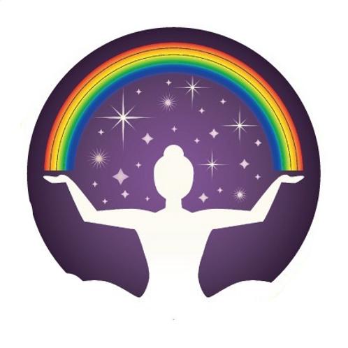 rainbow woman