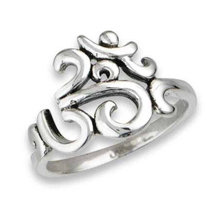 om sanskrit ring