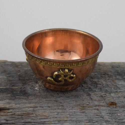 tibetan copper bowl + burner